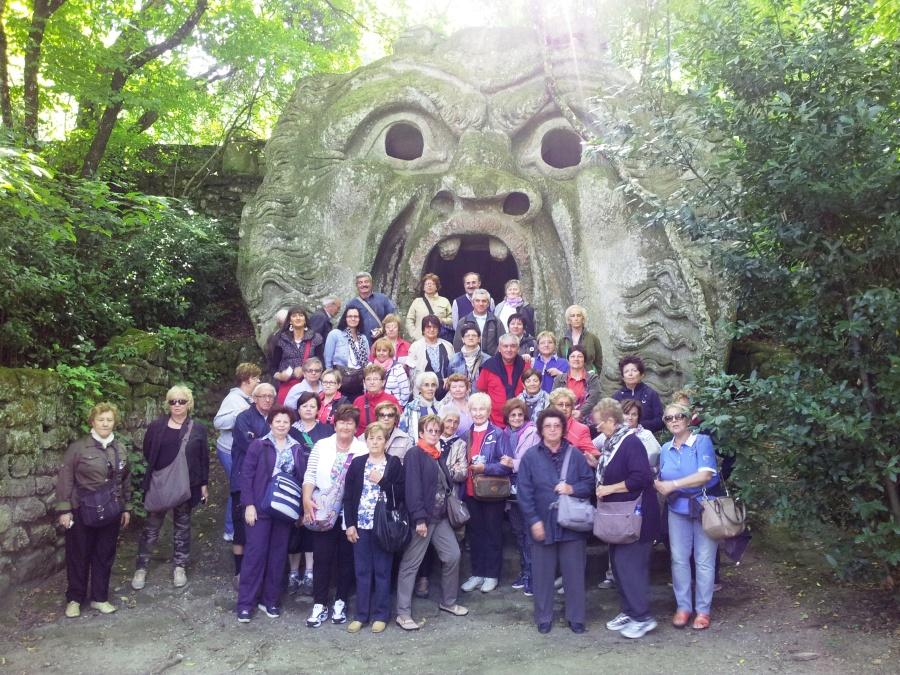 guida turistica parco dei mostri